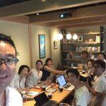 エクスマ名古屋66期のメンバーで卒業1年経った成果発表の合宿しました。