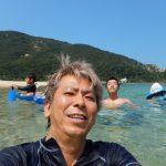 夏休みに海水浴に行くならココでしょ!って言うくらい良いとこ(白木海水浴場)見つけた~!