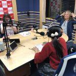 名古屋のアイドルdelaさんのラジオ「三州瓦 presents dela stream」に出演させてもらいました!